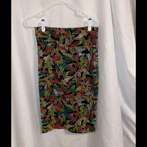LuLaRoe Fall print Cassie Skirt S